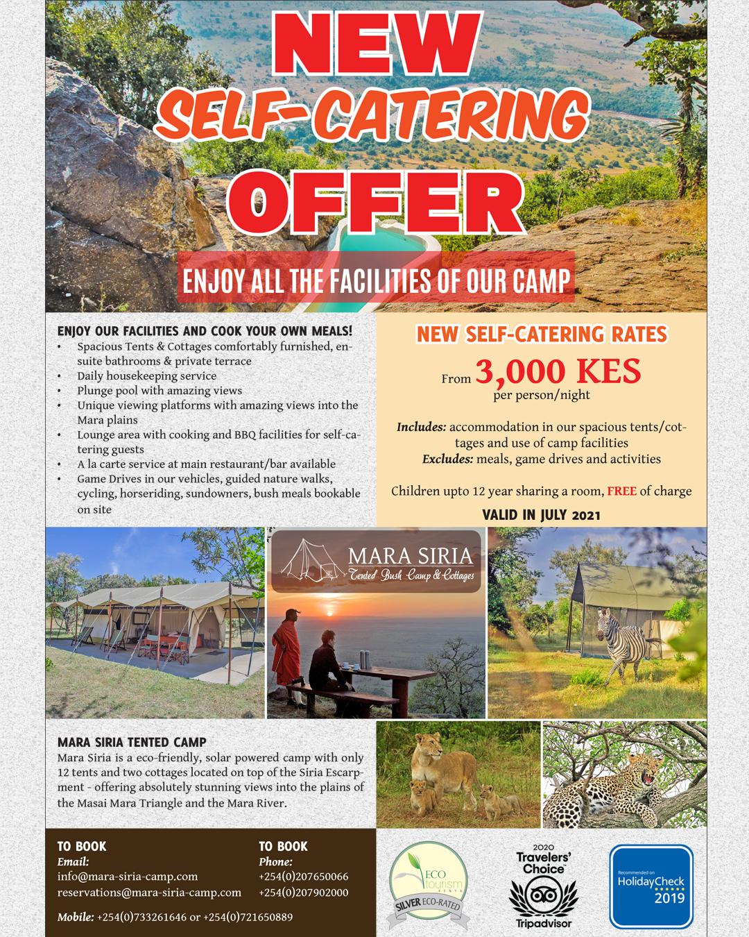 Self Catering OfferSM